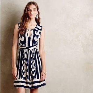 """Anthro Maeve """"Sennebec"""" Keyhole Jersey Dress"""
